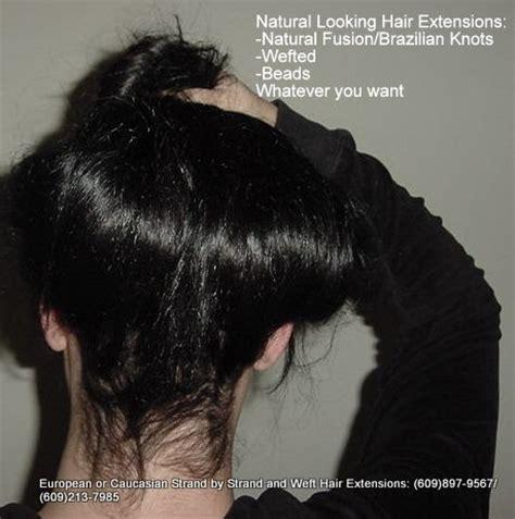 extensions caucasian thin hair natural fusion strand by strand hair extensions caucasian