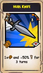 Hurls Knife by All Swashbuckler Talents Pirate 101 Wiki