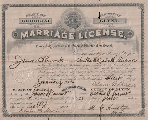 Blount County Tennessee Marriage Records Blount Family Documents Glynn Co