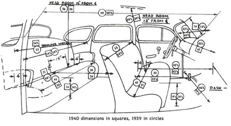 car interior parts diagram plymouth cars of 1939 a lineup