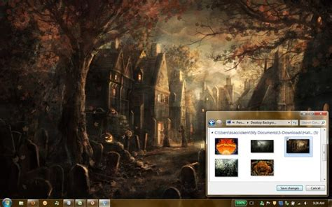 halloween themes for windows download happy halloween windows 7 theme pcworld