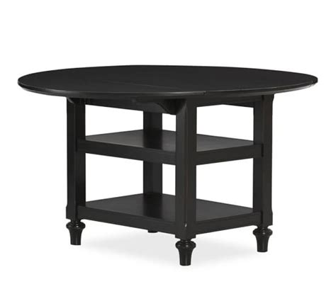 Shayne Drop Leaf Kitchen Table Black Pottery Barn Black Drop Leaf Kitchen Table