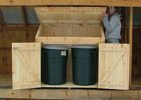 trash  shed outdoor trash  storage shed