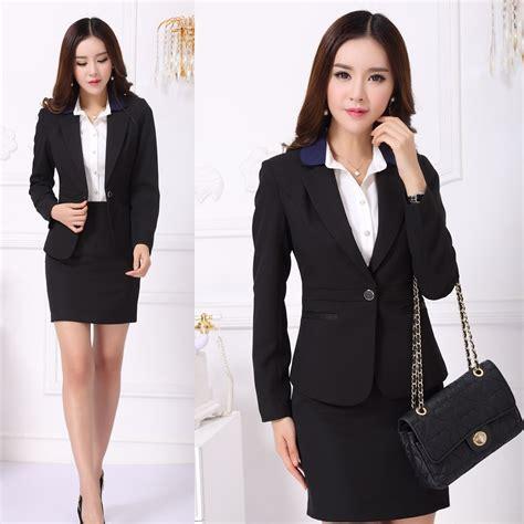 Blazer Wanita Blazer Formal Resmi Polos Blazer Jas Wanita Jas Warna formal office designs skirt suits blazer sets fashion business suits