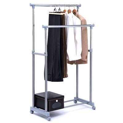 sgac9002gr serena mobile clothes rack