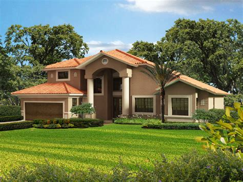 Small Spanish Style House Plans