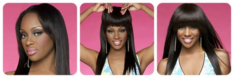 secret extensions for black women light yaki african american clip in bangs fringe for