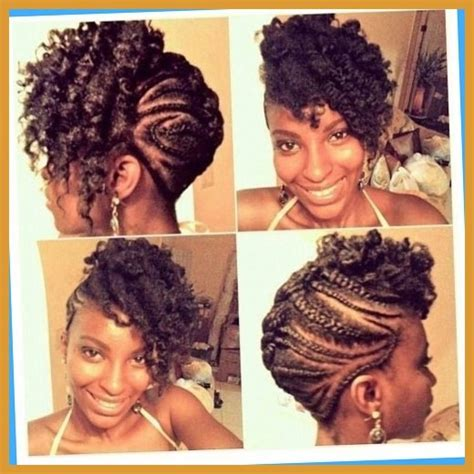 ethnic fishtail pics braided updo hairstyles african american dfemale beauty