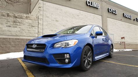 subaru wrx horsepower 2016 subaru wrx premium drive review with photos