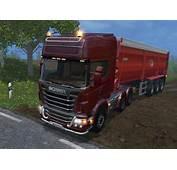 Scania R730 TOP LINE Truck V 60  Farming Simulator 2015