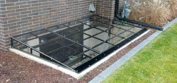 Custom Window Well Covers Steel Frame Window Well Covers Custom Plastics Fargo Nd