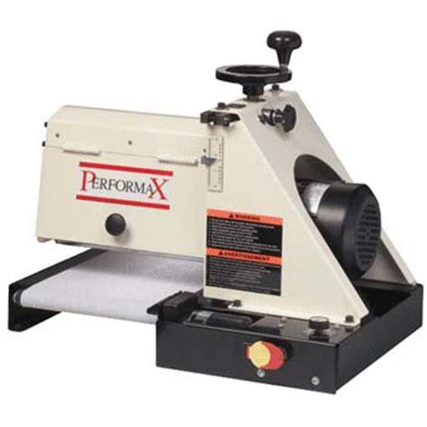 アメリカ パフォーマックス社 ドラムサンダー 10 20plus製品カタログ