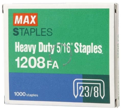 Kenko Heavy Staples No 1213 6 Box specialist stationery singapore wholesale stationery