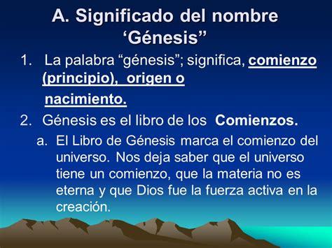 origen del libro de genesis visi 243 n general del antiguo testamento ppt descargar