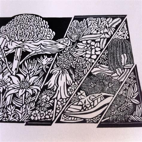 design art printers australian linocut art 171 soulsong art lynette weir s