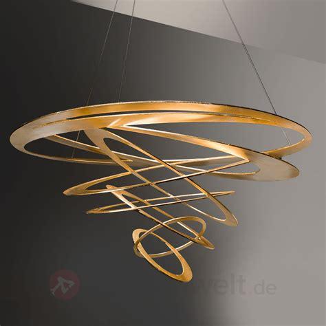 design design loop design pendelleuchte in gold 6532095