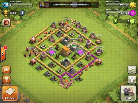 coc th6 best defence base th6 base design www pixshark com images galleries with