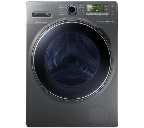 Samsungs Designer Washing Machine by Samsung Ecobubble Ww12h8420ex Washing Machine Graphite