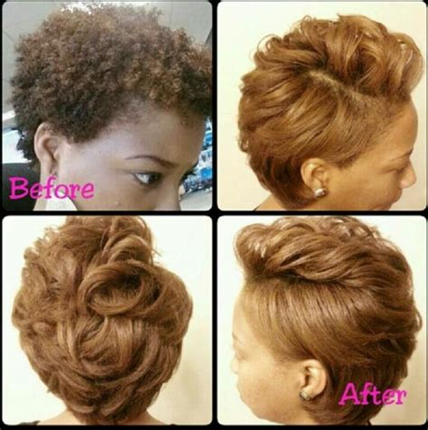 hairstyles for straight natural hair straighten natural hair natural short hairstyles