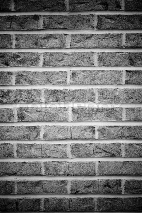 Free Online House Plans brick wall background in black and white with vignetting