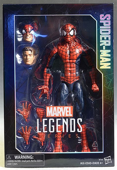 Spider Marvel Legends Hasbro 12 Figure review and photos of hasbro spider marvel legends 12 inch figure