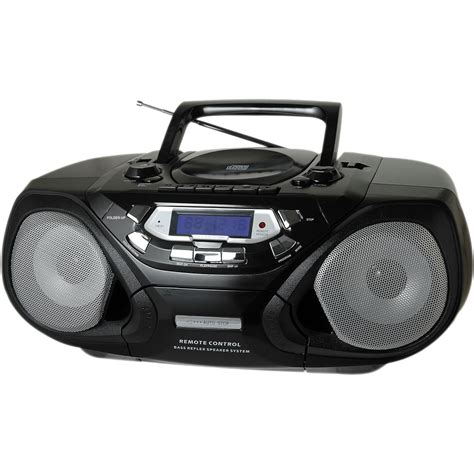 cd cassette player qfx portable cd and cassette player with am fm radio j33 u b h