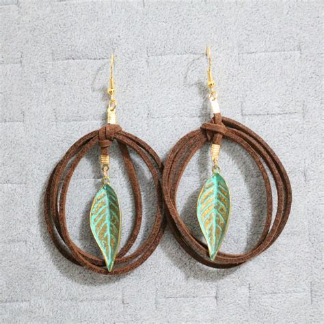 Handmade Leather Earrings - handmade leather earrings reviews shopping