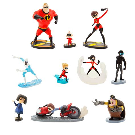 Set 2 Figure by суперсемейка 2 набор фигурок Incredibles 2 Deluxe Figure