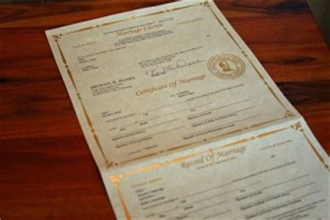 Marriage License Arizona Records Arizona Marriage License Guidance Az Sup Court Wedding Info