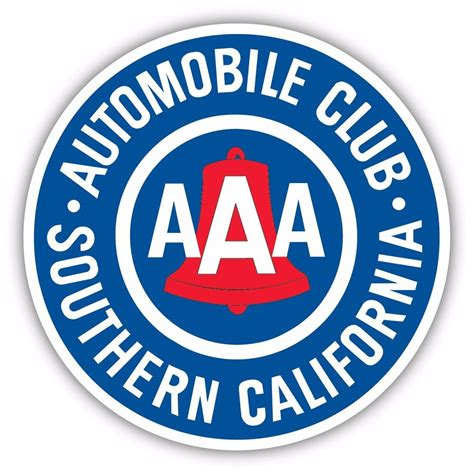 the automobile club of aaa southern california member automobile club decal sticker vinyl logo ebay
