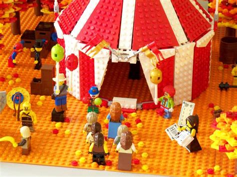 Lego Circus Show 3 moc fall circus lego historic themes eurobricks forums