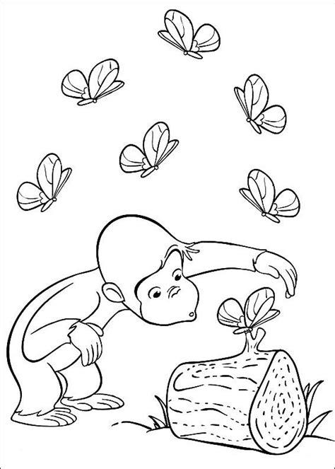 Merry Curious George Coloring Pages Kleurplatenplein De Leukste Gratis Kleurplaten Op Het Net by Merry Curious George Coloring Pages