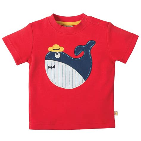 applique shirt frugi whale creature applique t shirt