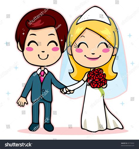 married couples swing married smiling holding stock illustration