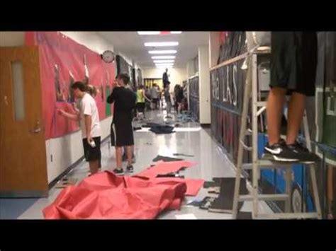 High School Hallway Decorating Ideas by Bridgeport High School Ohio Homecoming Spirit Week