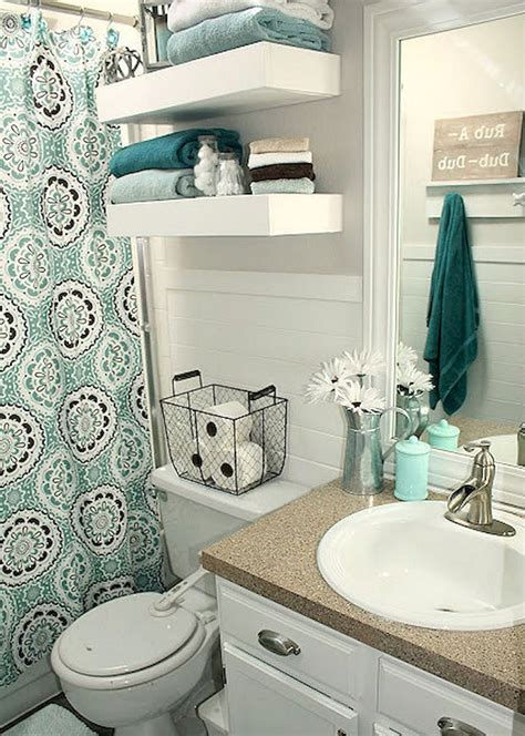 bathroom decor idea adorable 30 diy small apartment decorating ideas on a