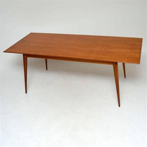 retro dining room table retro walnut dining table vintage 1950s at 1stdibs