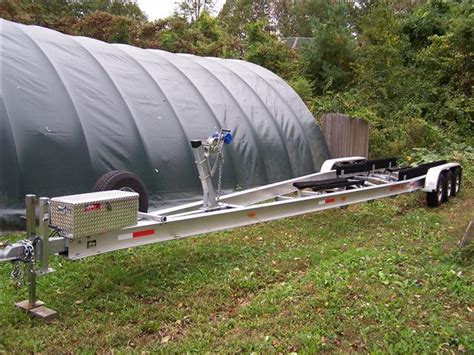 used boat trailers in nh 2011 ace tri axle aluminum boat trailer 373918b 35 40 in