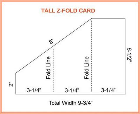 Z Fold Card Template by Z Fold Card Kaarten