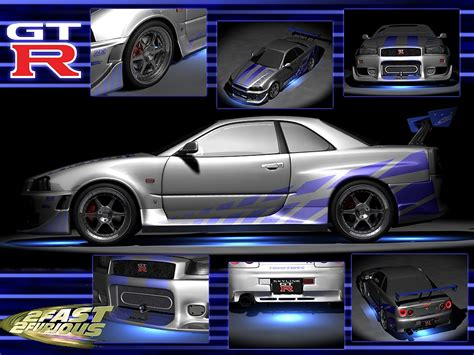 nissan skyline fast and furious interior 2 fast 2 furious skyline by gregpktm lightwave transportation