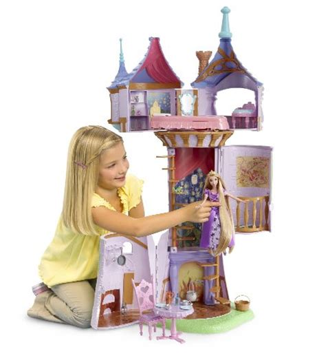 disney doll houses disney tangled featuring rapunzel fairytale tower