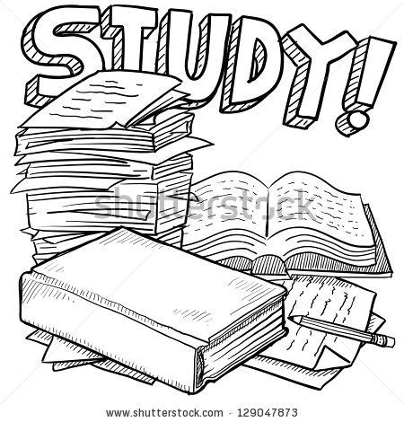 doodle new study doodle style school study illustration in vector format