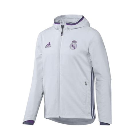 Parka Bola Real Madrid Army 2016 2017 real madrid adidas presentation jacket white for only 163 60 94 at