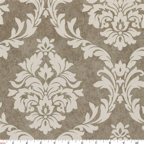 upholstery fabric damask mocha damask fabric by the yard brown fabric carousel