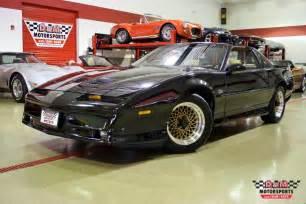 1989 Pontiac Trans Am Gta 1989 Pontiac Firebird Trans Am Gta Stock M5156 For Sale