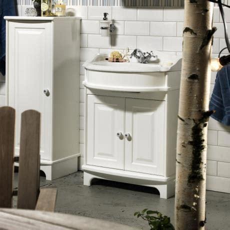 Miller Bathroom Furniture Miller Traditional 1903 65 Two Door Vanity Unit With Ceramic Basin