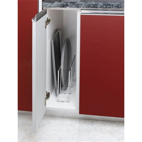 Tray Dividers For Kitchen Cabinets by Rev A Shelf U Shaped Tray Divider For Base Or Kitchen
