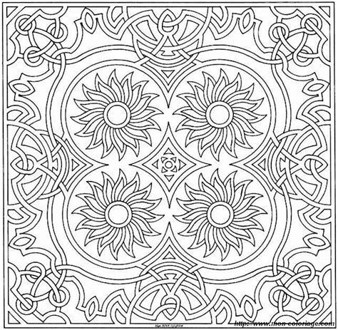 square mandala coloring pages free coloring pages of square mandala printable