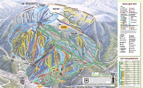 winter park colorado map winter park ski resort trail maps ski