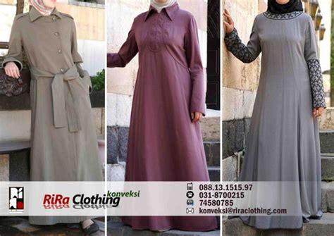 Baju Muslim Wolycrape Wanita Ar2610 konveksi gamis katun rira clothing konveksi